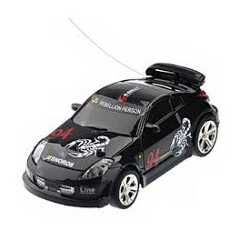 Mini RC auto v plechovce
