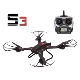 Dron S3W s wifi kamerou 58cm a výdrží až 10minut