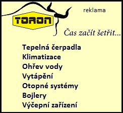 TORON - Čas začít šetřít